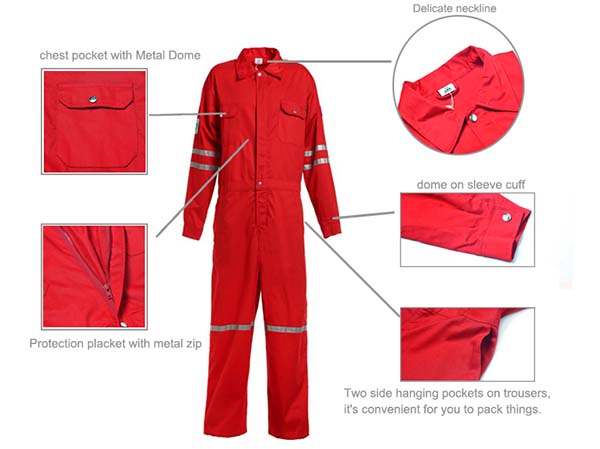 Custom Overalls for workers